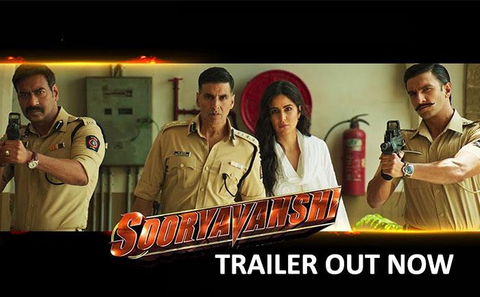 sooryavanshi trailer out