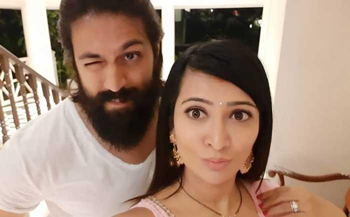 kgf 2 star yash birthday wish wife radhika