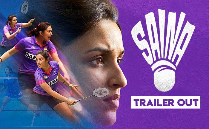 Saina trailer out! Parineeti Chopra aces Saina Nehwal's trademark badminton shots like a pro